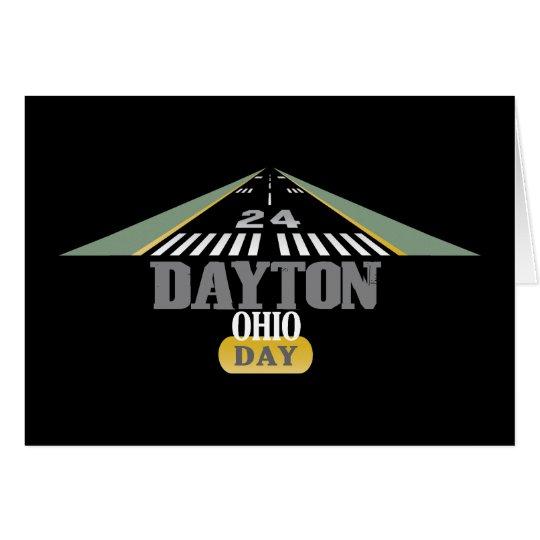 Runway 24 - Dayton Ohio DAY Card