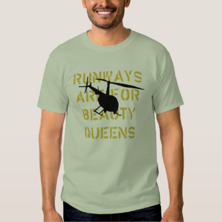 Runway Are For Beauty Queens T Shirt