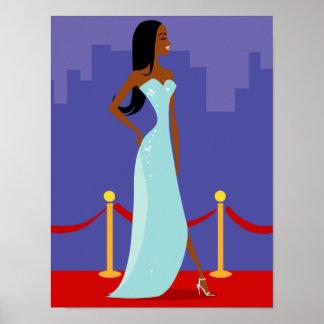 Runway Diva Poster (African American)