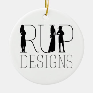 Rup Designs: items that benefit the lives of kids Ceramic Ornament