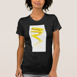 Rupee currency sign tshirt