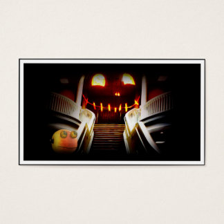 Rupert at the Spooky Staircase Business Card