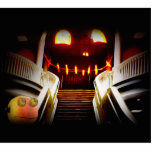 Rupert at the Spooky Staircase Photo Cut Outs