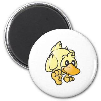 Rupert el pato imán redondo 5 cm