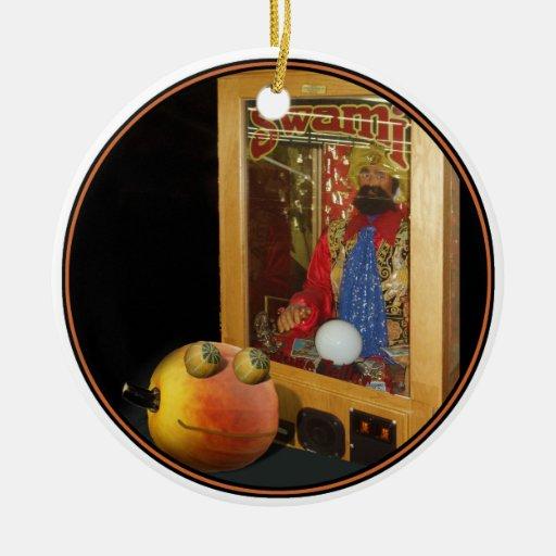 Rupert Halloween Pumpkin & The Swami Christmas Ornament