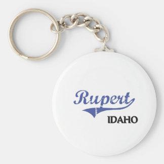 Rupert Idaho City Classic Keychains
