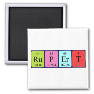 Rupert periodic table name magnet