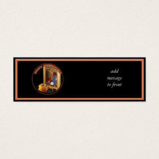 Rupert Pumpkin & The Swami Mini Business Card