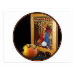 Rupert Pumpkin & The Swami Postcard