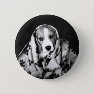 Rupert the Beagle Puppy Dog Badge Pinback Button