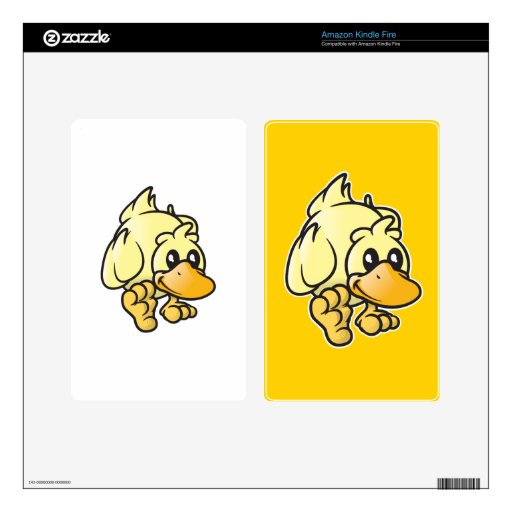 Rupert the Duck Skins For Kindle Fire