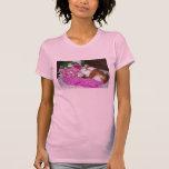 Rupert y rosas - conejillo de Indias Camisetas
