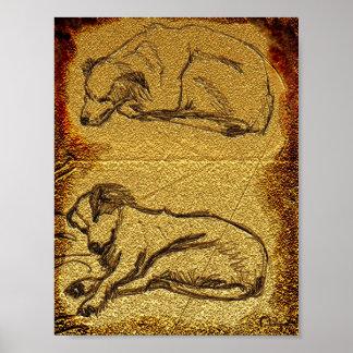 rupestral Rusty Print