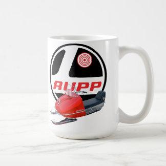 Rupp Snowmobiles Classic White Coffee Mug