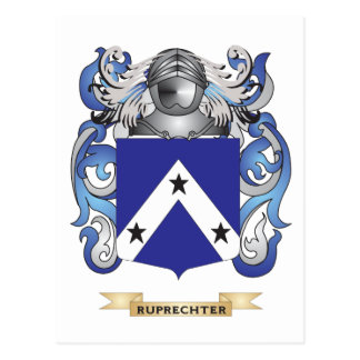 Ruprechter Coat of Arms (Family Crest) Post Card