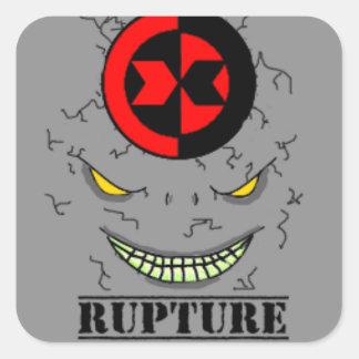 Rupture Rock Monster Sticker