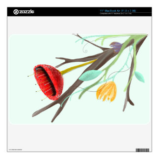 Rupydetequila Children´s Illustration 2013 Decals For MacBook