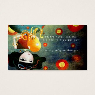 Rupydetequila Children´s Illustration Business Card