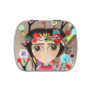 Rupydetequila Children´s Illustration Jelly Belly Tins