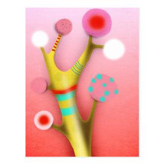 Rupydetequila Childrens Illustration Postcard