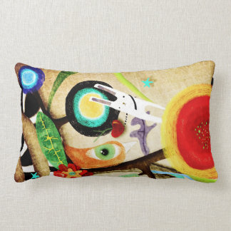 Rupydetequila Cute Stitch Poppies Pillow