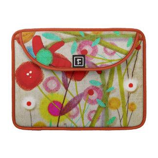 Rupydetequila Flowers 2013 Sleeve For MacBook Pro