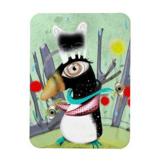 Rupydetequila Penguin Rectangular Magnets