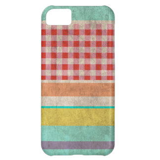 Rupydetequila Vintage Cute Pattern Cover For iPhone 5C