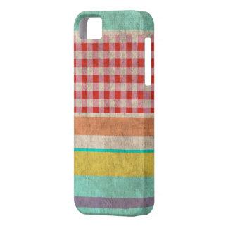 Rupydetequila Vintage Cute Pattern iPhone SE/5/5s Case