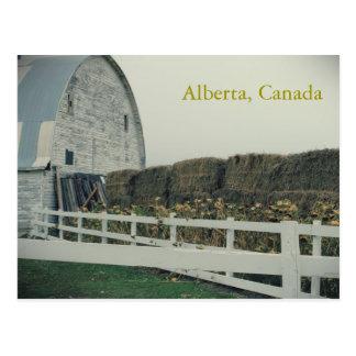 Rural Alberta Postcard