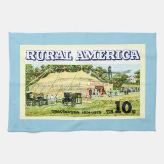 Rural America Chautauqua Kitchen Towel