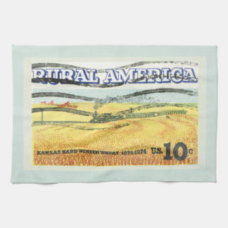 Rural America Kansas Kitchen Towel