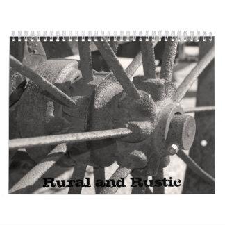 Rural and Rustic 2015 Calendar