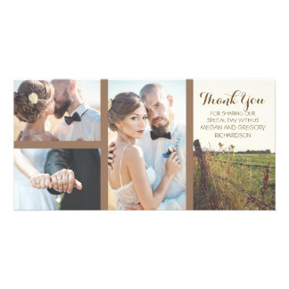 Rural Barbed Wire Fence Rustic Wedding Card