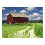 Rural Barn 4.25x5.5 Paper Invitation Card