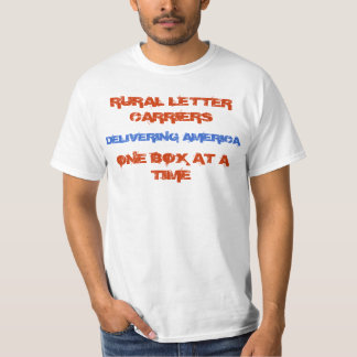 Rural Carriers - Delivering America T-Shirt