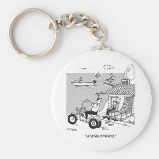 Rural Cartoon 3229 Keychain