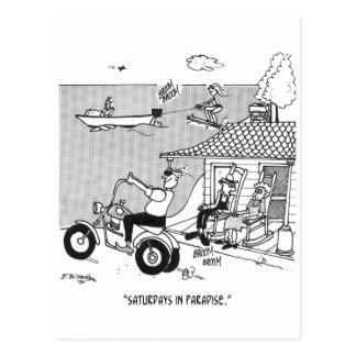 Rural Cartoon 3229 Postcard