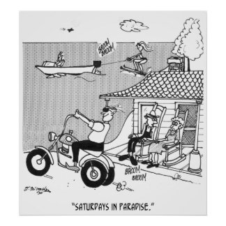 Rural Cartoon 3229 Poster