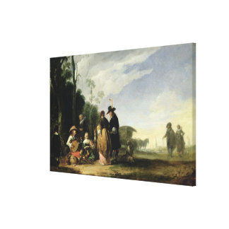 Rural Celebration Canvas Print