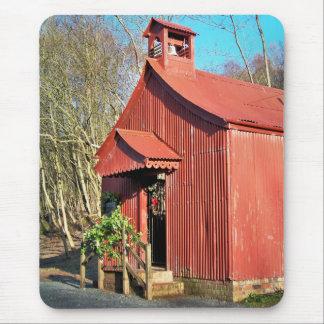 RURAL CHURCH MOUSE PAD