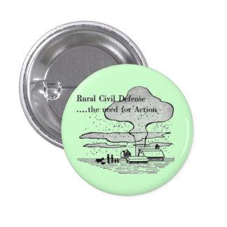 Rural Civilian Defense Button
