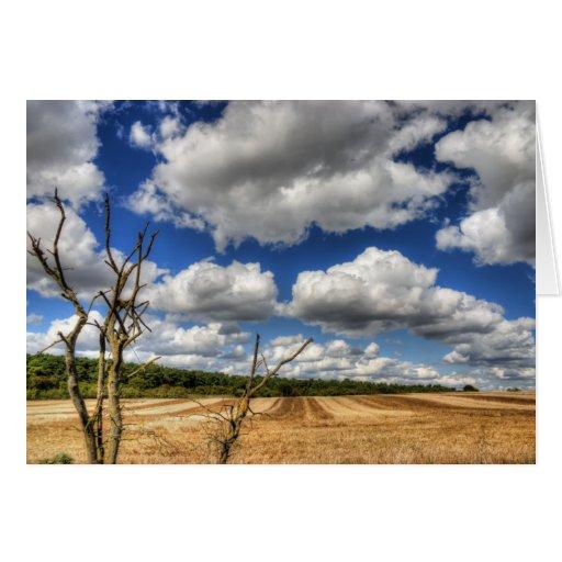 Rural Cloudscape Cards