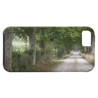 Rural dirt country road near the town of iPhone SE/5/5s case