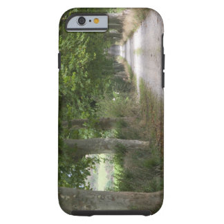 Rural dirt country road near the town of tough iPhone 6 case