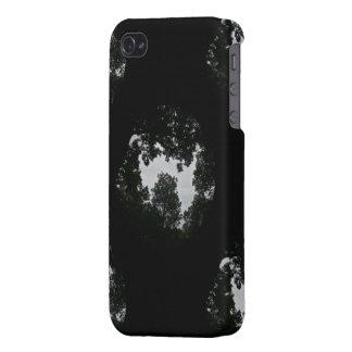 Rural Dreamscape, Tiling Black-iPhone 4 Case