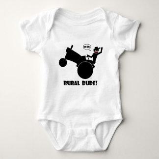 RURAL DUDE 2 BABY BODYSUIT