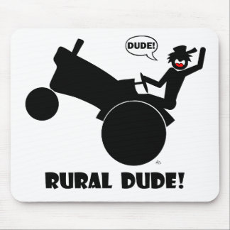 RURAL DUDE 2 MOUSE PAD