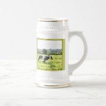 Rural English Country Scene Stein. Beer Stein