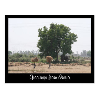 rural india post cards